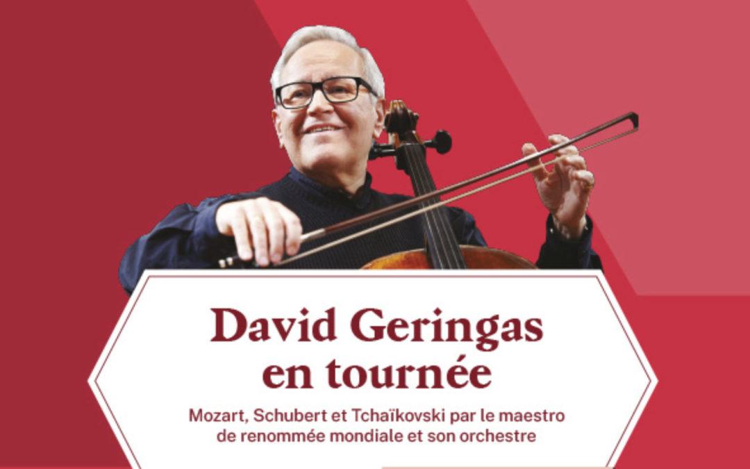 DAVID GERINGAS CHAMBER ORCHESTRA